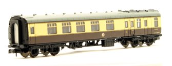 BR Mk1 BSK Brake Second Corridor Chocolate & Cream